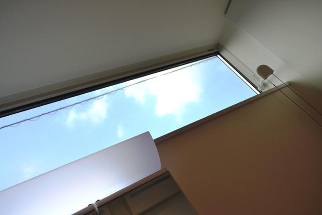 空と緑の家