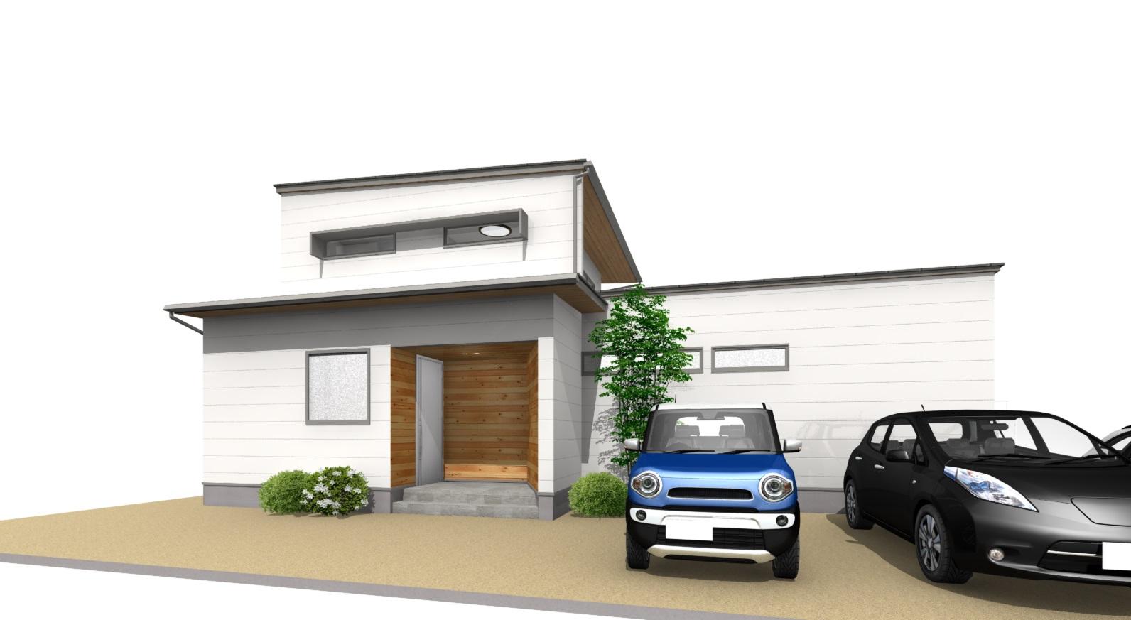 三重県伊勢市小俣町本町・【採光を考えたOpen kitchenがお洒落なL型ハウス】